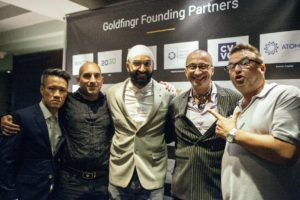 Investors and Entrepreneurs at Goldfingr Launch Night -London